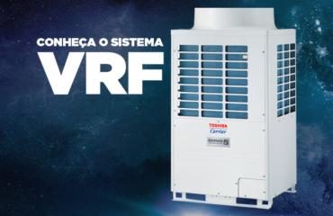 Sistema de climatização VRF (Fluxo de Gás Refrigerante Variável)